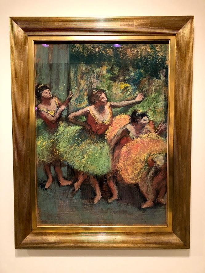 Degas dancers 2019