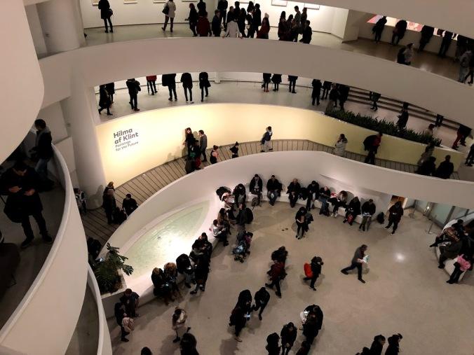 Guggenheim spiral 2019