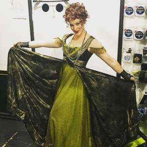 Caughell in Helene costume